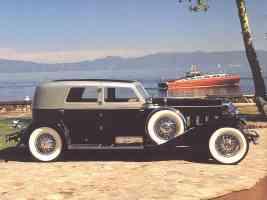 1929 Duesenberg Berline J 218 by Murphy Black sv