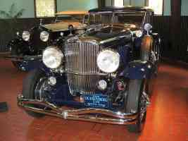 1929 Duesenberg J 151 Murphy Sedan Dark Blue fvl