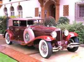 1930 Cord L 29 4 Door Sedan Maroon fvr