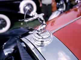 1930 Pierce Arrow Radiator Ornament 35mm Hershey PA 1970