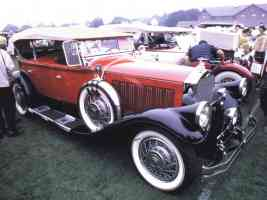 1930 Pierce Arrow Touring Car Red fvr 35mm 2 Hershey PA 1970
