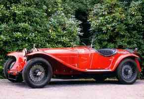 1931 Alfa Romeo 8C 2300 Roadster Red fsv