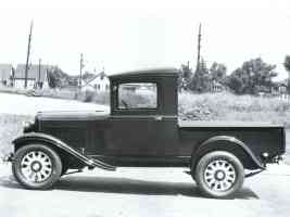1931 Dodge 1 2 Ton Pickup sv BW