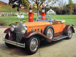 1931 Eighth Series Packard Boattail Speedster Orange Brown fvl