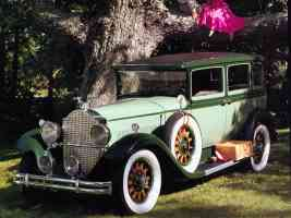 1931 Packard Standard 8 4 Door Sedan Green fvl