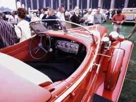 1932 Auburn Boattail Speedster Red Interior 35mm Hershey PA 1970
