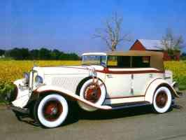 1932 Auburn Phaeton Custom 12 160 4 Door Convertible Phaeton Sedan Cream fsv