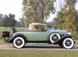 1932 Cadillac 452 B Roadster Light Dark Green svr