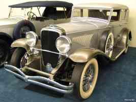 1932 Duesenberg J Holbrook Sedan fVl