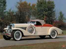 1933 04 1933 Duesenberg SJ Roadster wall