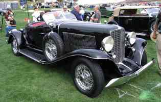 1933 Auburn 12 165 Salon Speedster fvr