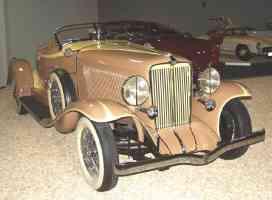 1933 Auburn V 12 Boattail Speedster Tan fvr