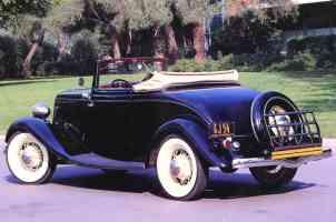 1933 Ford Cabriolet Black rvl