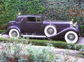 1933 Hispano Suiza J12 V 12 Coupe deVille body by Binder w Removeable Hardtop Dark Grey svr