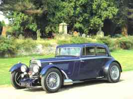 1934 Aston Martin Mark II 1500cc 2 Door Saloon Blue fvl
