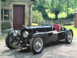 1934 Aston Martin Ulster LeMans 1 5L Race Car Black fvl