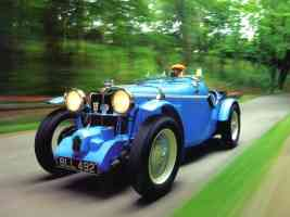 1934 MG NA Supercharged 1271cc 120HP Roadster Blue Low fvl