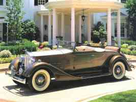 1934 Packard Eight Roadster Dark Gold fsv