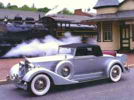 1934 Packard Twelve 1107 Coupe Roadster Convertible Sedan Grey fvl