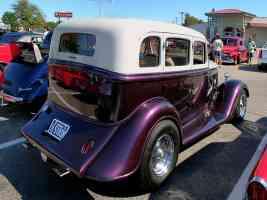 1934 Plymouth 4 Door Sedan Street Rod Small Block Mopar Engine Metallic Purple Cream rvr 2006 Dream Cruise CL