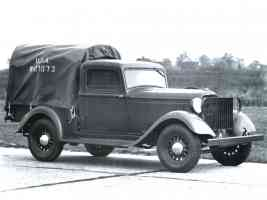 1935 Dodge 1 2 Ton Army Pickup fvr BW