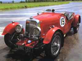 1936 Aston Martin LeMans Race Car Red fvl