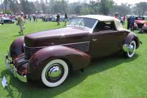1936 Cord 810 Conv Coupe fvl