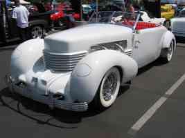 1936 Cord white fvl