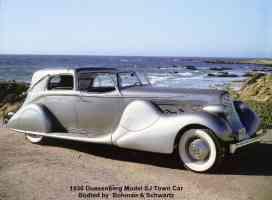 1936 Duesenberg Model SJ Town Car