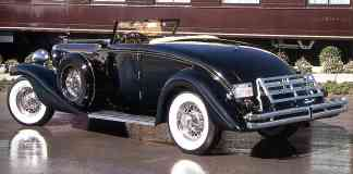 1936 Duesenberg Model SJN Rollston Convertible Coupe rvl