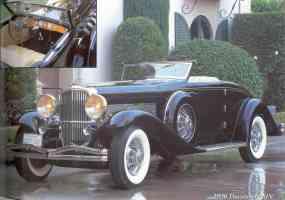 1936 DuesenbergSJN Rollston