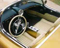 1954 Oldsmobile F 88 Concept Car Interior