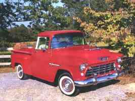 1955 Chevrolet 3100 Pickup Red fvr