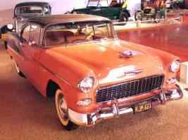 1955 Chevrolet Bel Air 2 Door Hardtop Coral Grey fvr