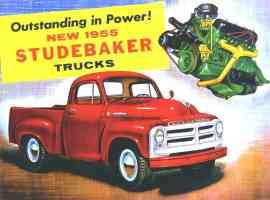 1955 Studebaker Pickup Advertisement
