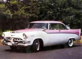 1956 Dodge La Femme 2 Door Hardtop Heather Rose Sapphire White fvl