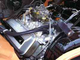 1956 Imperial 354 Hemi Engine Compartment Air Cleaner Off