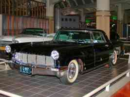 1956 Lincoln Continental Mark II Black fvl H Ford Museum CL 1