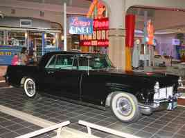 1956 Lincoln Continental Mark II Black fvr H Ford Museum CL 1