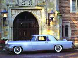 1956 Lincoln Continental Mk II Light Blue fsv