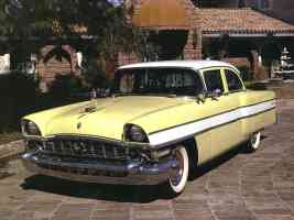 1956 Packard Executive 4 Door Sedan Yellow White fvl