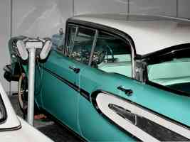 1958 Edsel Citation 4 Door Hardtop Serial Number One Side Clip Speakers Turquoise White H Ford Museum CL1