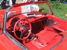 1959 Chevrolet Corvette Convertible Instrument Panel Canterbury Village Car Show F