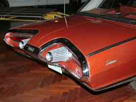 1963 Chrysler Turbine Car Tail Lights Detail H Ford Museum CS 1