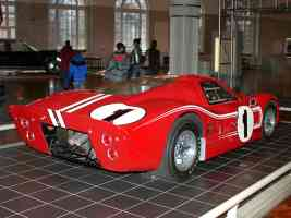 1967 Ford GT 40 Mark IV Hood Red with White Stripe rvr H Ford Museum CL