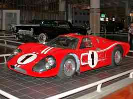 1967 Ford GT 40 Mark IV Red fvl H Ford Museum CL