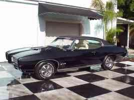 1969 Pontiac GTO 400 Black sv