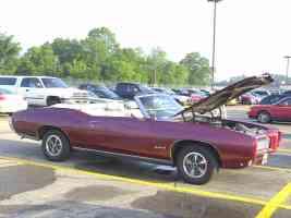 1969 Pontiac GTO Convertible Maroon svr 2002