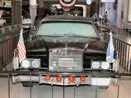 1972 Lincoln Presidential Parade Limousine Used by Nixon Ford Carter Reagan Black fv H Ford Museum N