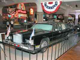 1972 Lincoln Presidential Parade Limousine Used by Nixon Ford Carter Reagan Black fvl H Ford Museum N